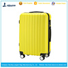 "New 20"" ABS lightweight travel carry on luggage 4 spinner wheeled size trolley cabin bag case"