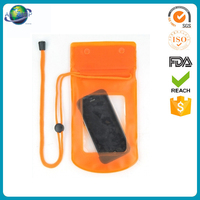 Popular hot selling mobile phone pvc waterproof bag cell phone case