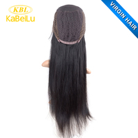 100% unprocessed lacefront wig human hair, swiss lace for wig making,long curly wigs free sample halloween party wig hair human