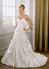best price high quality satin bridal dress #OW234