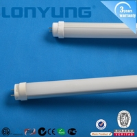 G13 lampholder milky/clean cover T8 LED tube 18W ETL TUV SAA approved