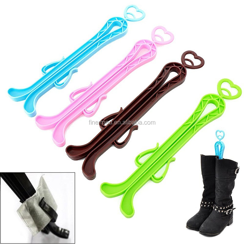 Magic Practical Long High Boot Shaft Keeper Holder Clip Stand