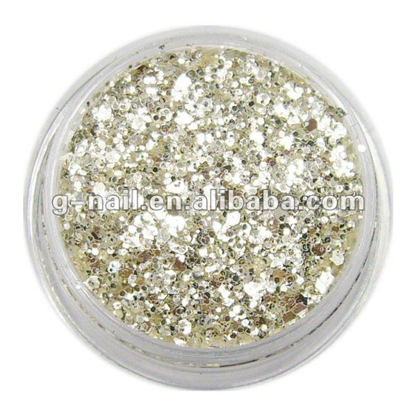 Nail Art,Nail Decorations,Nails Beauty,Pure Silver,AGP-121