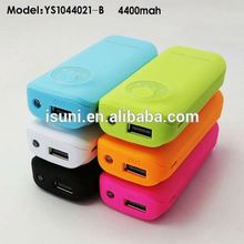 Good touch feeling 6-color harga great power battery 4400mah for outdoor using