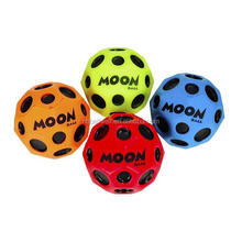 High quality wholesale moon stress toy ball