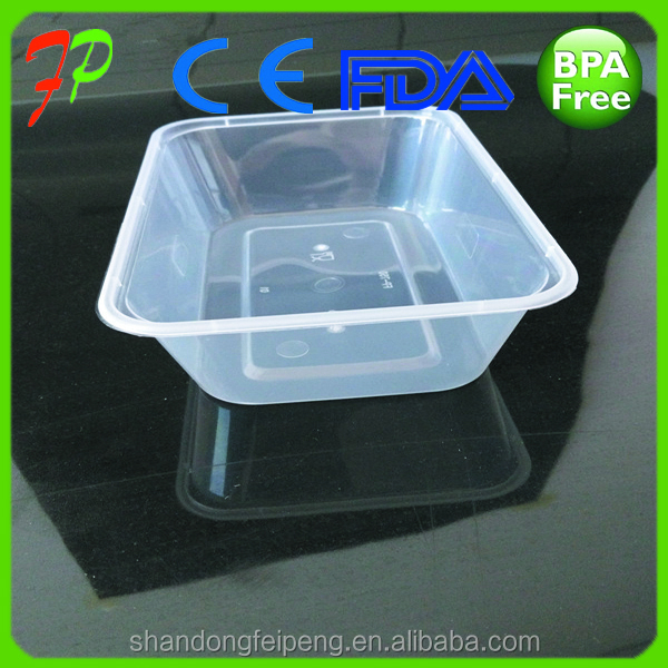 PP disposable plastic food box