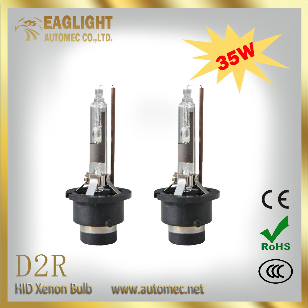 2016 High bright D2R 35W 4300K 5000K 6000K 8000K xenon headlight bulb