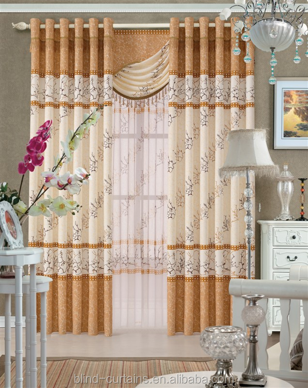 new design sheer curtain drapes for window