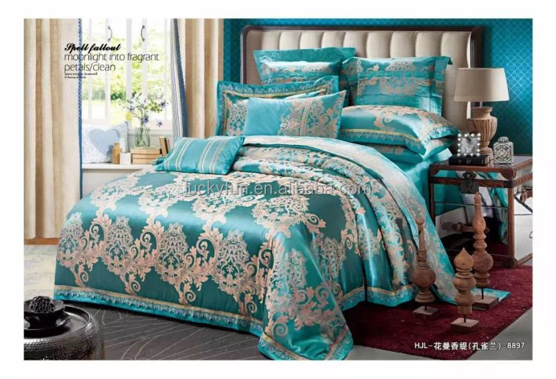100% Cotton home textile, Jacquard Bedding <strong>Set</strong>