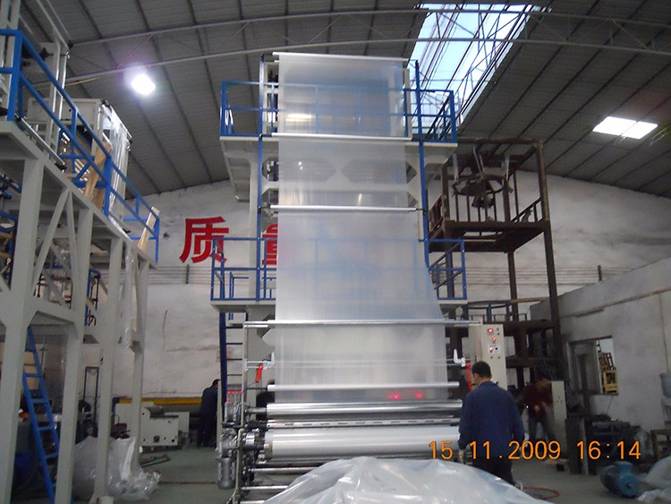 SJ-C105 HDPE LDPE agricultural greenhouse polyethylene film blowing machine production line blow extruder machine