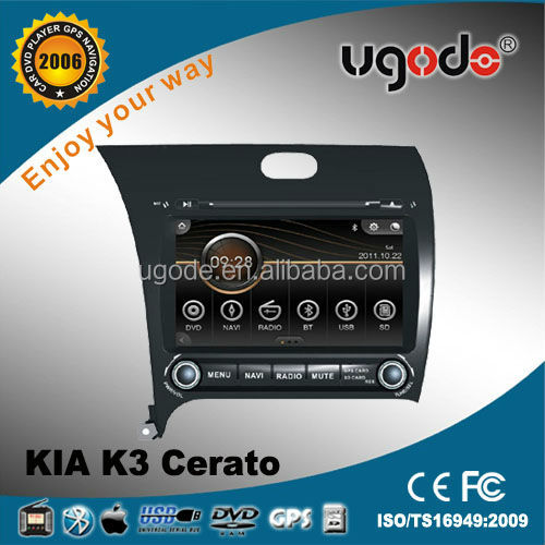 In Dash DVD GPS Navigation system for Cerato/K3/Forte 2013