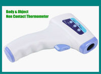 Portable Gun Shape Human Body & Object Temperature Reader Non Contact Thermometer