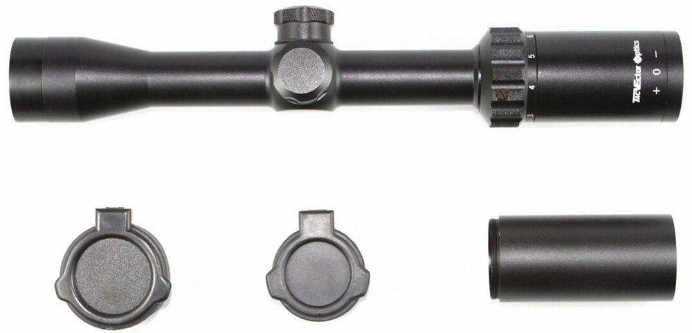 Vector Optics 2-7x32 Hunting Riflescope 25.4mm One Inch Tube Duplex Plus Reticle