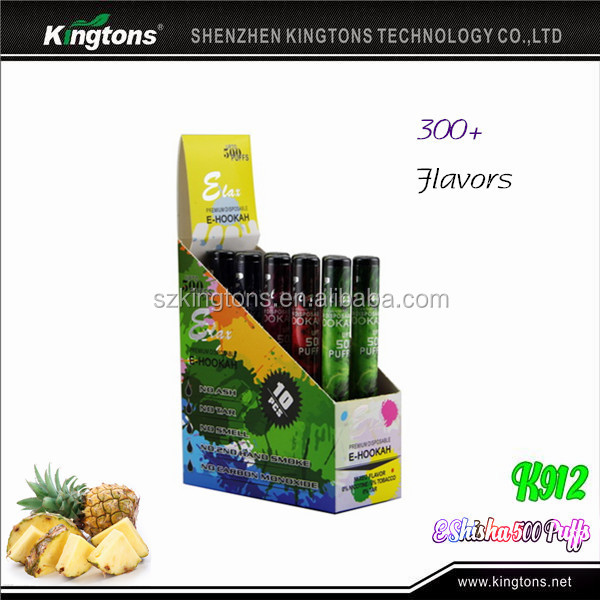Hot selling 500 puffs disposable brand names e cigarettes