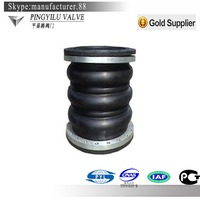 expansion flexible rubber jis 10k lap joint flange