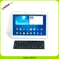 Ultra thin ABS bluetooth keyboard for tablet PC/smartphone BK812