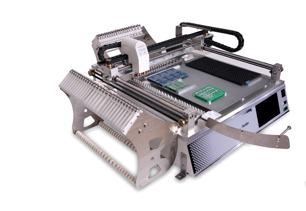 NeoDen 3rd generation pick and place machine TM245P-SMT machine for small scale production,prototype PCB