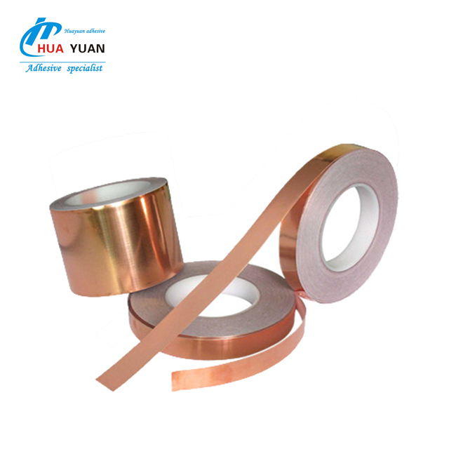 Free sample!! Wholesale 25mm 36 yards Acrylic conductive copper foil tape