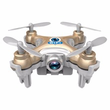 Mini RC Quadcopter 2.4G 4CH 6-Axis Gyro Drone UFO with Camera WiFi Adults Toy