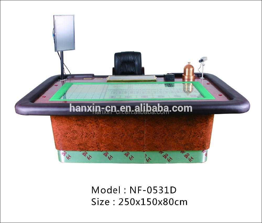 Automatic craps table / Sicbo table with LCD table