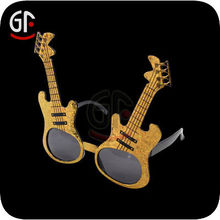 Wholesale Party Supplies Fascinating Guitar Shaped Led Glasses For Kids
