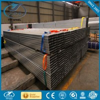 40x40mm galvanized square steel pipe schedule 40 galvanized steel pipe construction support steel pipe