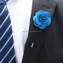 low price brooch lapel pin mens flower lapel pin for dress