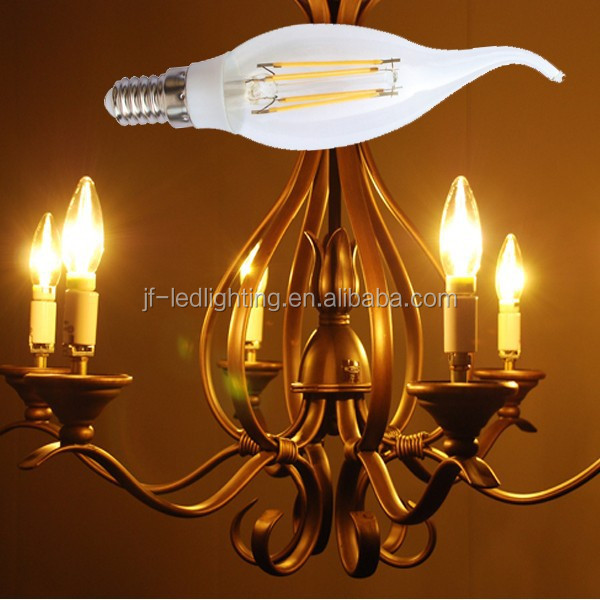 2015 New dimmable filament led bulb,3W 4W 6W led filament lamp, dimmable led filament bulb light