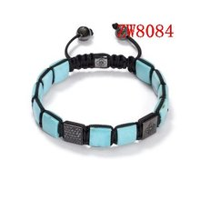 black and white stretch fashion crystal bead patterns discount religious shamballa bracelet