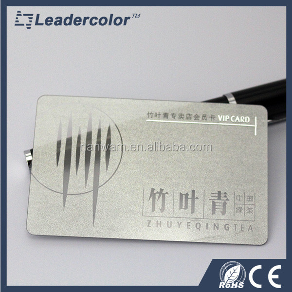 credit card size plastic blank cards in pvc