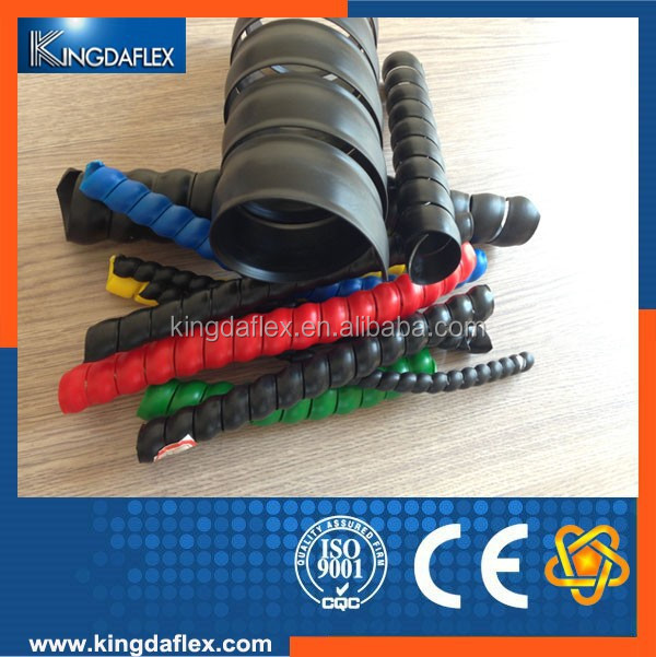 flexible spiral guard/sleeve for hydraulic hose