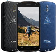 "AGM X1 Tri-proof IP68 Smartphone 4G 5.5"" Qualcomm Snapdragon 617 Octa-core 4GB+64GB 13.0MP Dual Rear Cameras 5400mAh Cellphone"
