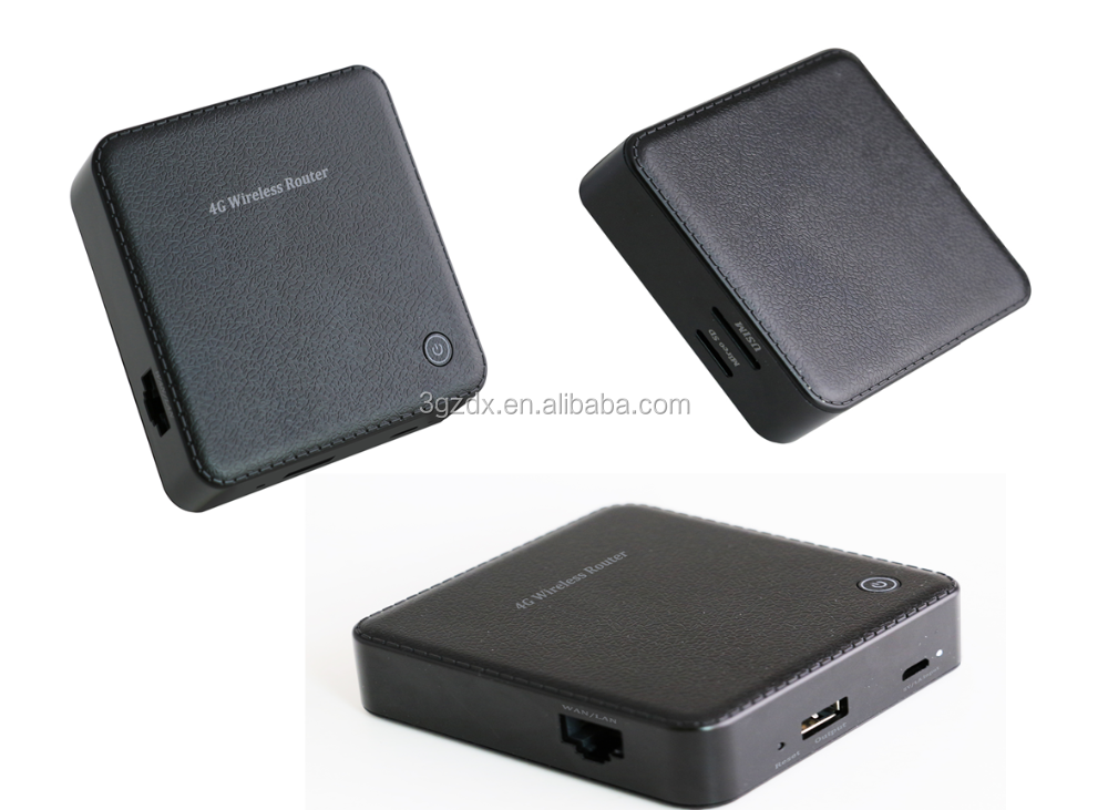 4G Router for POS printer FDD TDD wifi modem with external antenna 4G router M2M
