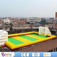 Bingo big inflatable soap football field with CE certificate