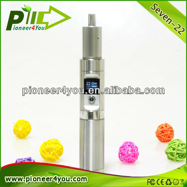 2014 new vape mod vase ecig/E-Cig Gravity Sensor Shaking Function green leaf/ 22w mech mod ecig with the kick