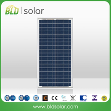 BLD SOLAR China manufacture high quality 30w 36cells 18V poly solar module/panel PV panel for solar street light