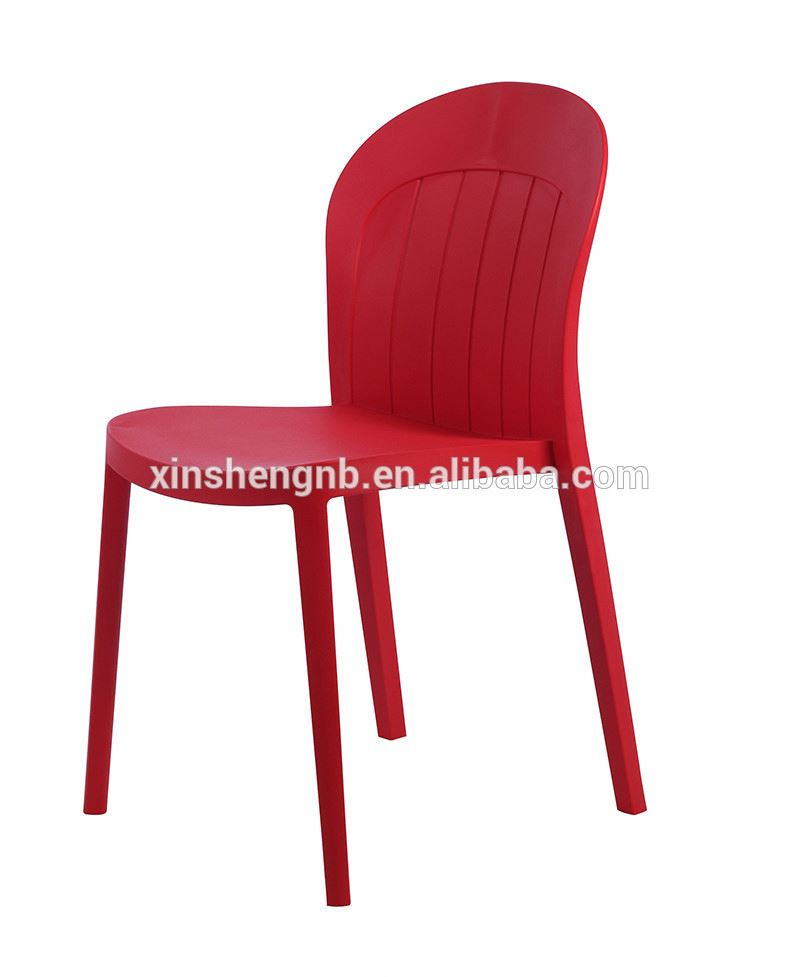 plastic modern leisure dining chair