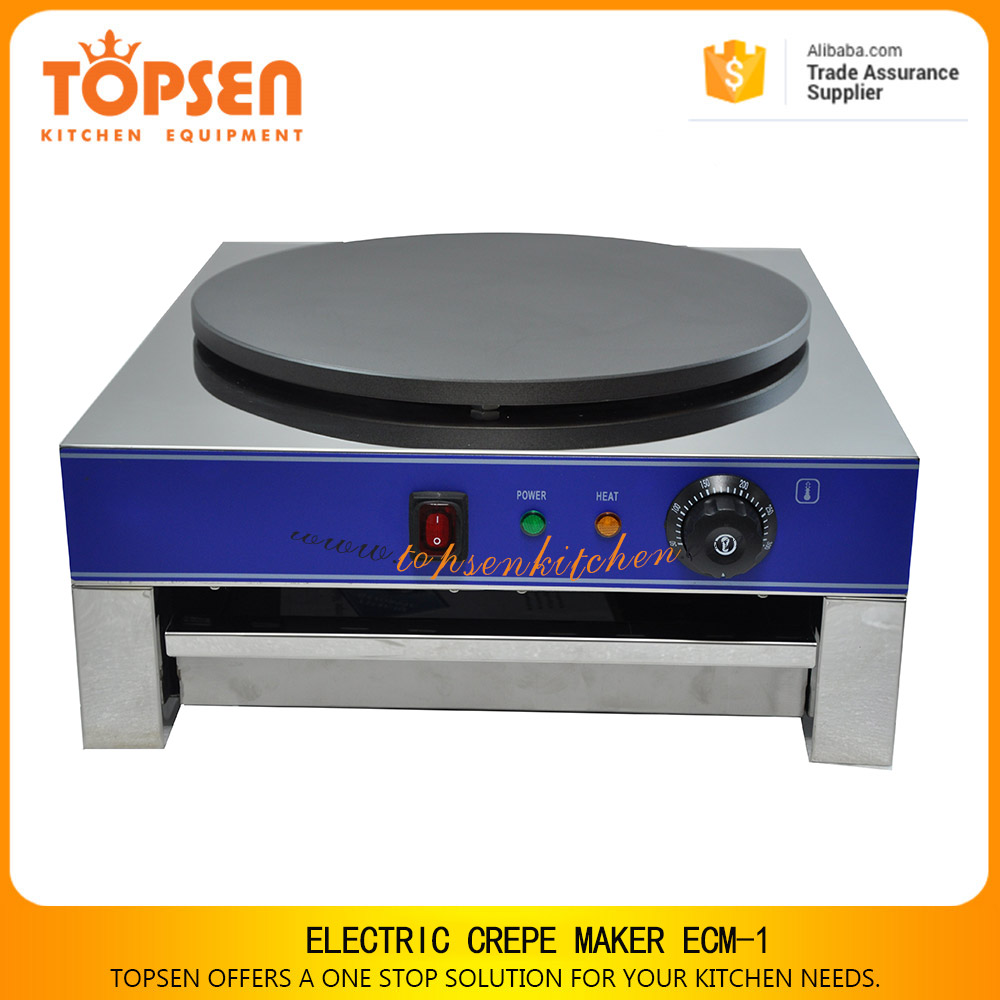 2017 high quality pancake making machine, crepe maker, gas single plate pancake cooker for sale