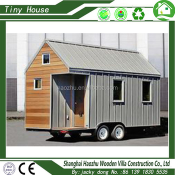 High quality prefabricated wooden tiny house for sale