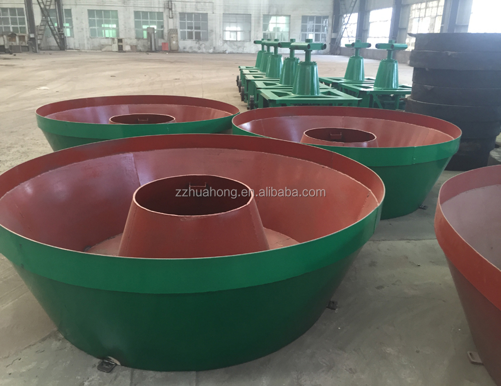 Mining equipment Model 1200 China gold mine wet pan mill,gold grinding mill price in Sudan