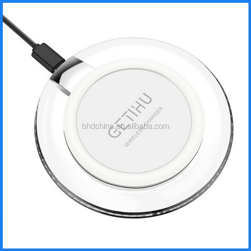 Quick Charge 3.0 Wireless Charging Pad for Samsung S7, S7 Edge, S6; G5, Optimus Vu2; Nexus 5, for iphone 7 customized logo