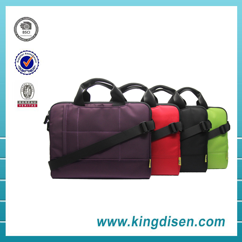 14 Inches high quality waterproof briefcase women laptop bag for business