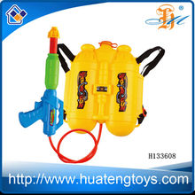 2014 hot sale plastic summer toys backpack water gun big water gun for wholesale H133608