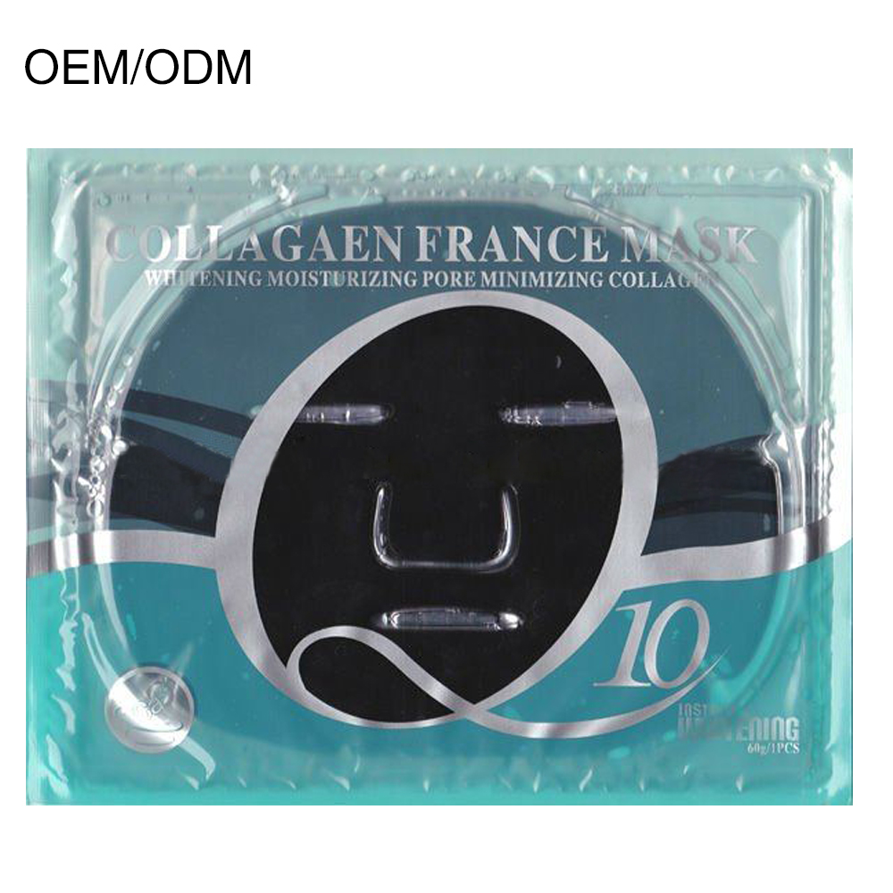 OEM Products Organic Bamboo Charcoal Collagen Facial Mask