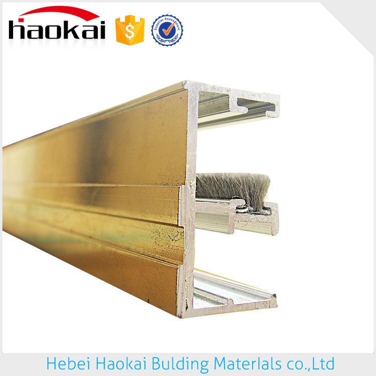 Best quality Reasonable price silicon/silicone/siliconized weather door sweep