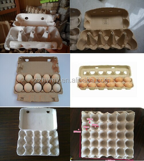 little labour needed paper egg carton box machine