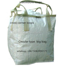 pp big bag 2000kg/bulk bag for seed grains/flexible container bag