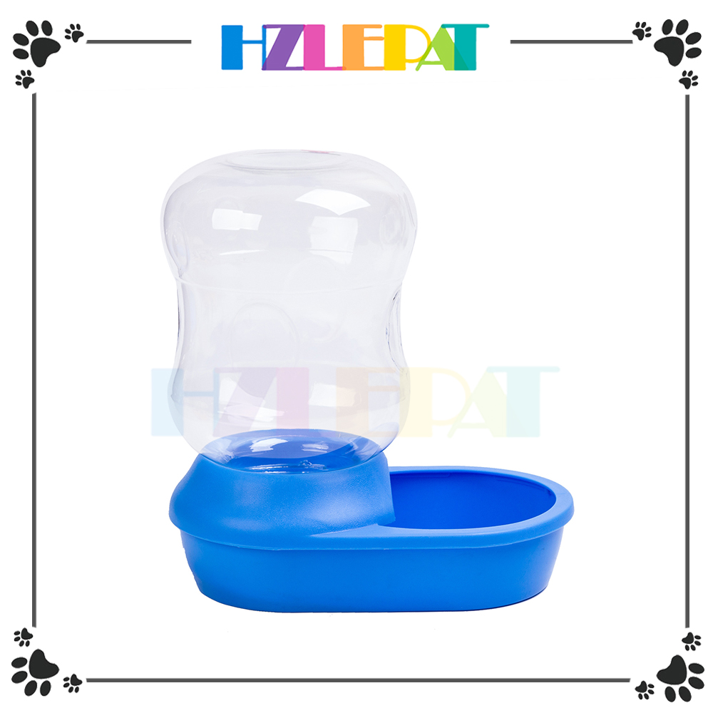 Dog Cat Puppy Water Drinker Dispenser Food Bowl Automatic Pet Feeder
