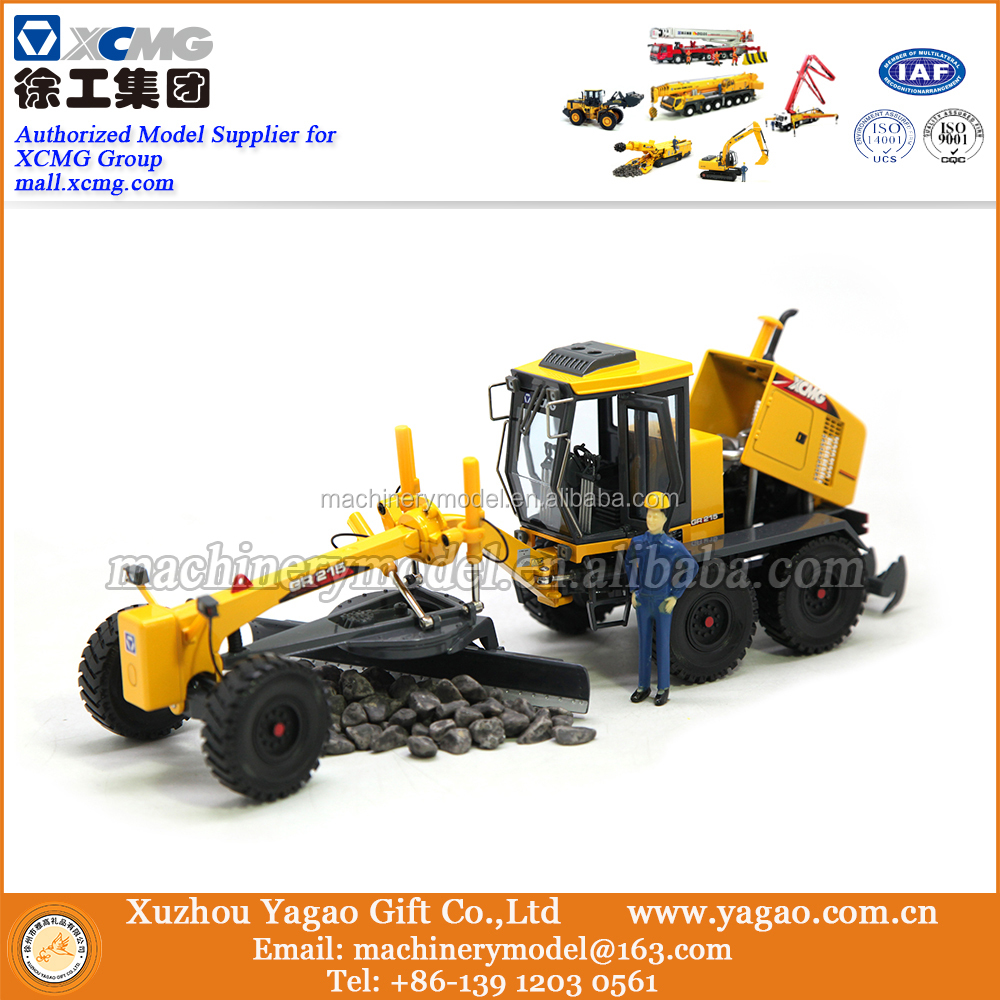 Construction Machinery Model 1:35, XCMG GR215 Grader Model, Gift Model, Decoration, Collection, Craft, Replica
