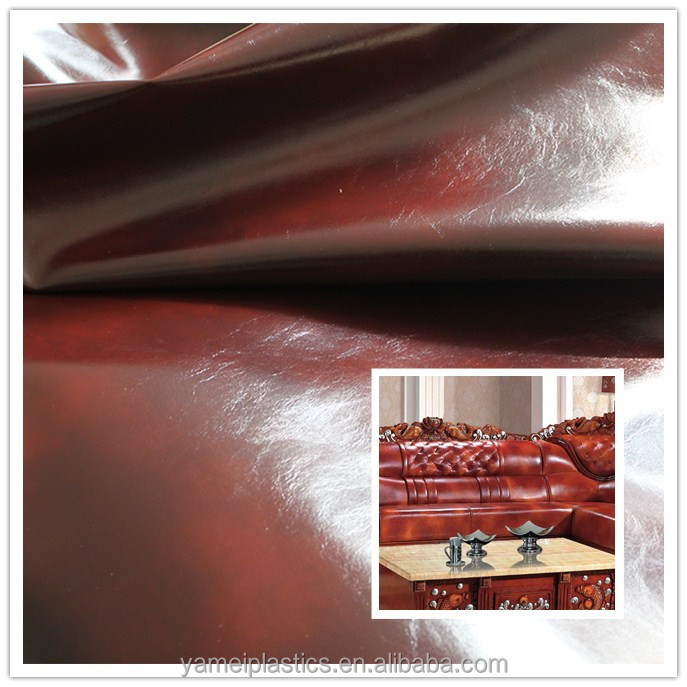 Hot PVC Vinyl Fabric for European Style Furniture Sofa